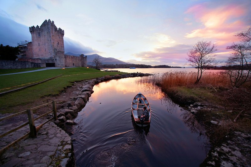 Ross Castle & Lakes of Killarney